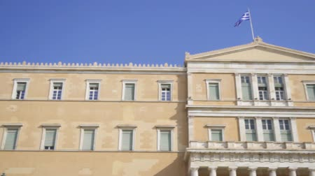 yunan : Building of the Hellenic Parliament in Athens, Greece.