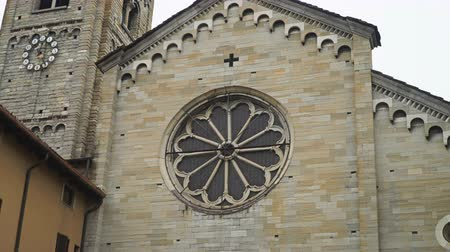 architectural heritage : Roman Catholic cathedral of the city of Como, Italy.