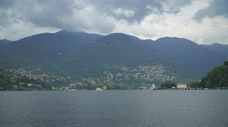 picturesque view : Mountain view from the Como lake.