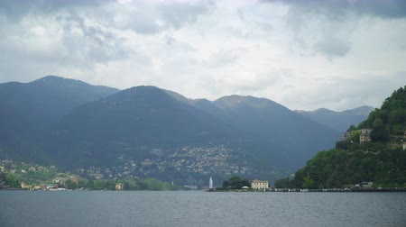 Mountain view from the Como lake.