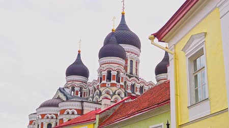 nevsky : View of the Alexander Nevsky Cathedral in Tallinn.