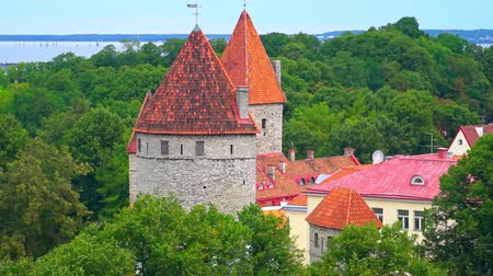sağlam : Defensive walls constructed around the Tallinn in Estonia.