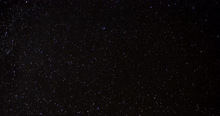celestial : Timelapse of stars in the night sky