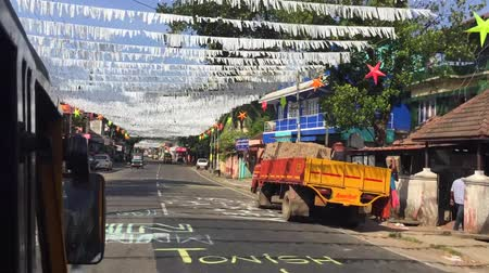 cochin : Bangalore, India - 01 JUL 2017: Indian street after festival