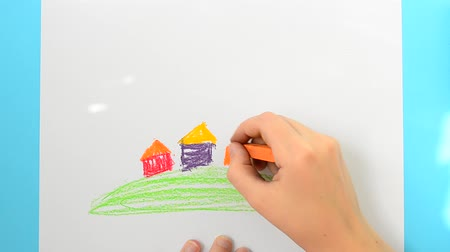 infantil : We draw houses. Vídeos