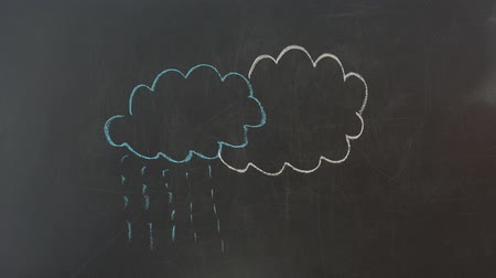 infantil : We draw a cloud and a rain. Vídeos