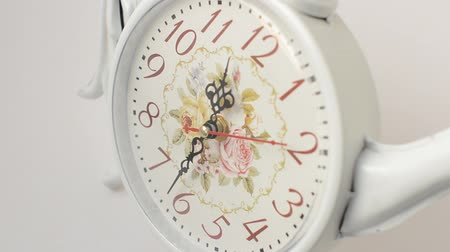 pm : Shooting of the dial of hours. Stock Footage