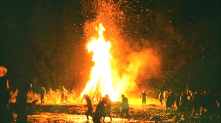 pagan feast : Ivan Kupala, fire and people
