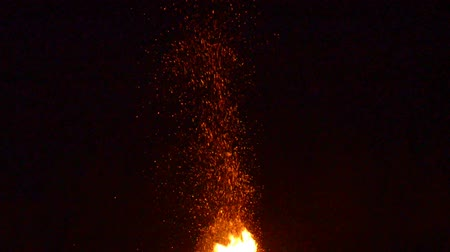 detonation : Fire and flame Stock Footage