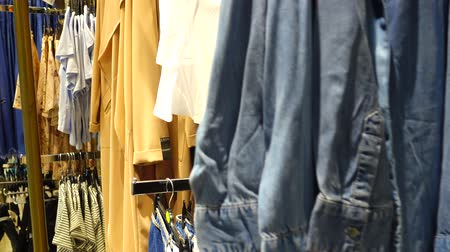 undershirt : Shopping in Europe. The choice of goods in the outlet. Discounts in shops of Europe.