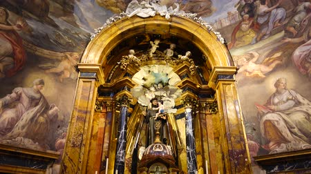 sto : MADRID, SPAIN - MARCH 27, 2018: Church of St. Anton. The church has been founded by Philip III at the beginning of the 17th century.