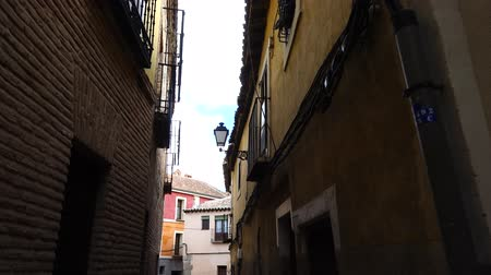 valoun : Streets in Toledo, Spain. Shooting in the movement.