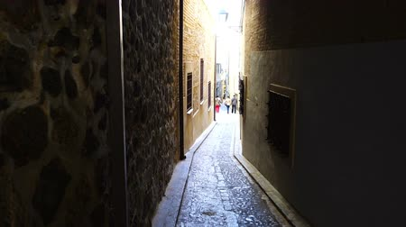 valoun : Streets of Toledo, Spain. Shooting in the movement.