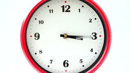 clockface : Shooting of hours. Time lapse. Stock Footage
