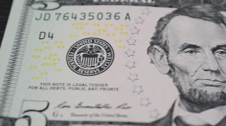 kořist : Banknote of the USA