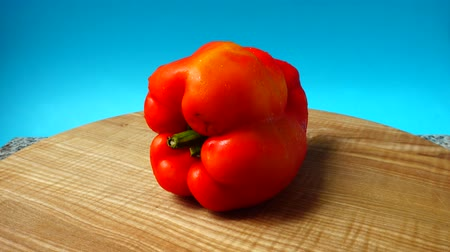 capsicum : Sweet red pepper.