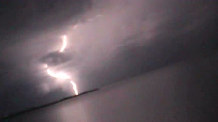 electric strike : Lightning in the sky