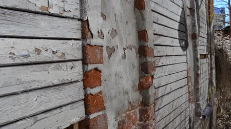deterioration : House wall
