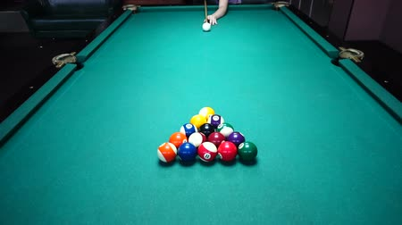 sinuca : Game billiards. Process of a game.