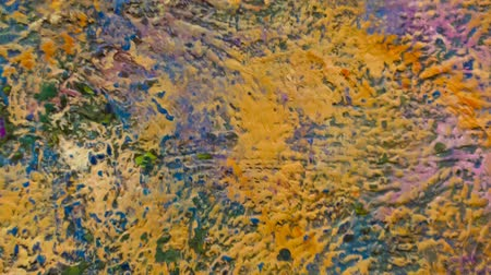 conhecido : NY, USA - APRIL 5, 2014: Claude Monet, water lilies paintings, 1950. Museum of Modern Art (MoMA), New York.