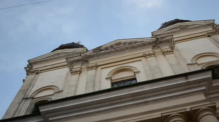 temple bell : Ancient armenian church in Lviv City (Ukraine)