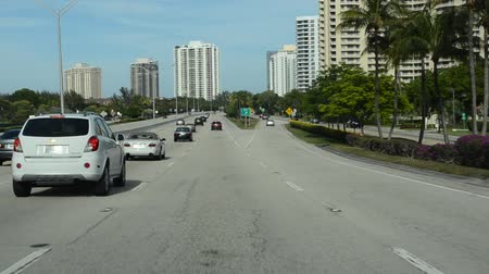 megalopolis : Miami. Miami and the biggest megalopolis in the southeast of the USA. Stock Footage