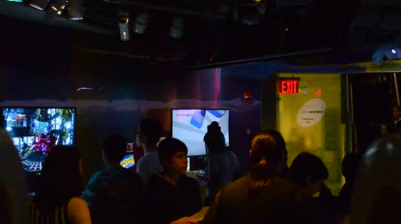 playstation : NY, USA - APRIL 5, 2014: The Sony Wonder Technology Lab. New York, USA. The Sony Wonder Technology for All Ages.
