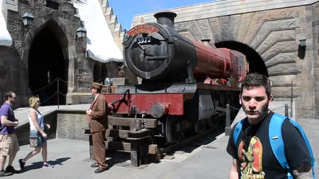 william : ORLANDO, USA - MARCH 25, 2014: Harry Potter, train. Universal studios orlando