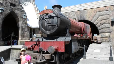 william : ORLANDO, USA - MARCH 25, 2014: Harry Potter, train. Universal Studios Orlando.