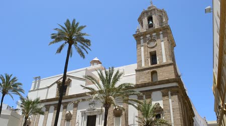 kraliçe : Wonderful cathedral of neoclassical style. City of Cadiz, Spain, Andalusia.