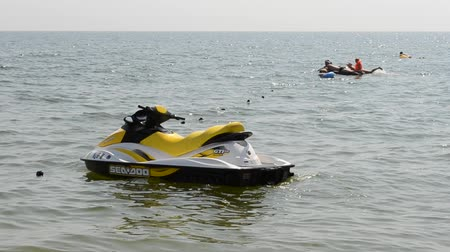 impressions : A personal watercraft. Stock Footage