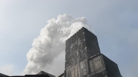 dioxid : Industrial plant with smoke