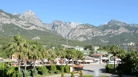 antalya : The Turkish settlement of Beldibi in mountains.