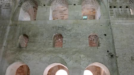 столбцы : Ancient temple, Christian. Sacred Nikolay Chudotvortsas church in to Demra. Turkey.