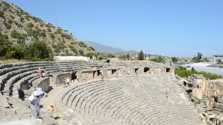 yunan : Greek-Roman amphitheater. Turkey.