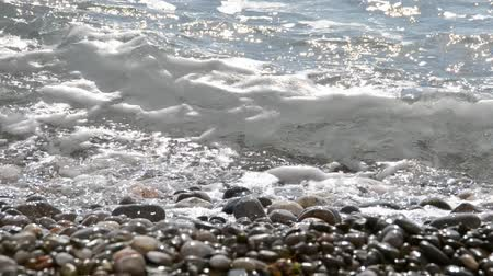 sea salt : Sea landscape. Stock Footage