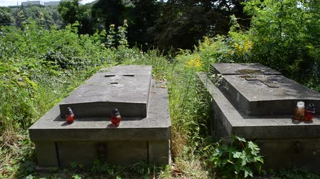 separè : Monuments on a cemetery. Lviv, Ukraine. Lychakovsky cemetery (polish. Cmentarz ?? yczakowski) ??? the historical and memorial memorial estate (since 1991), one of the oldest cemeteries of Ukraine.
