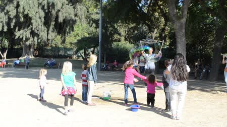 oblouk : Barcelona ciudadela park. Entertainments for children.