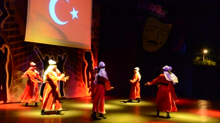 посвящение : BELDIBI, TURKEY - JUNE 11: Performers of the Turkish Night show at the Turkiz Resort & Spa on June 11, 2012 in Beldibi, Turkey.