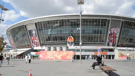 審判 : DONBASS-ARENA, DONETSK, UKRAINE - SEPT 25: September 25, 2010 in Donetsk, Ukraine.