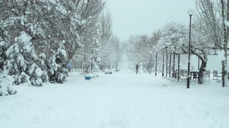 kardan adam : City in the winter. Shooting in the afternoon. Shooting in the winter.
