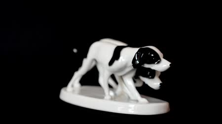 kultusz : Shooting of a hunting dog. Shooting of a statuette.