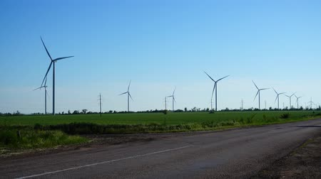 natural resource : Wind farm. Wind turbine.