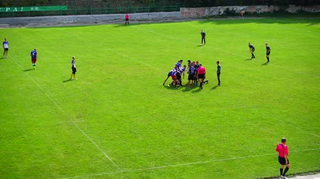 rúgbi : LVIV, UKRAINE - AUGUST 30, 2019: City Rugby Cup 7.