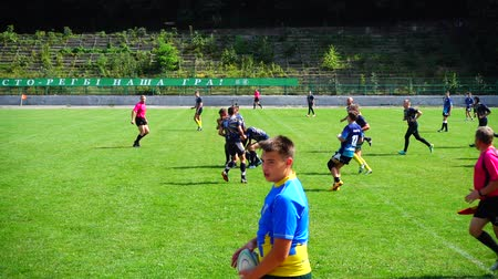 challenger : LVIV, UKRAINE - AUGUST 30, 2019: City Rugby Cup 7.