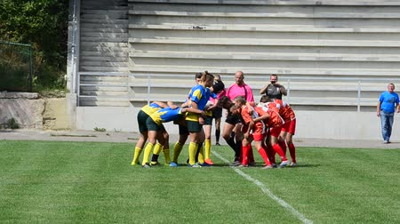 sierpien : LVIV, UKRAINE - AUGUST 30, 2019: City Rugby Cup 7.