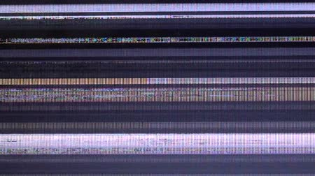 tela : Bad television signal. Breakage of the monitor.