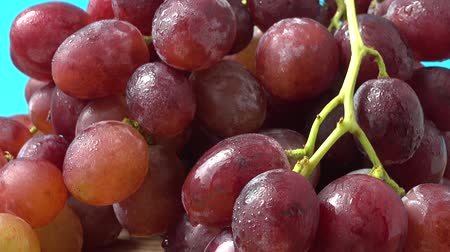 red wine : Grapes. Shooting in the movement. Stock Footage