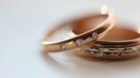 casamento : Wedding rings macro