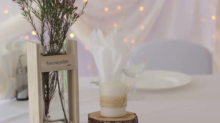 eleganckie : Beautiful flowers on table in wedding day HD